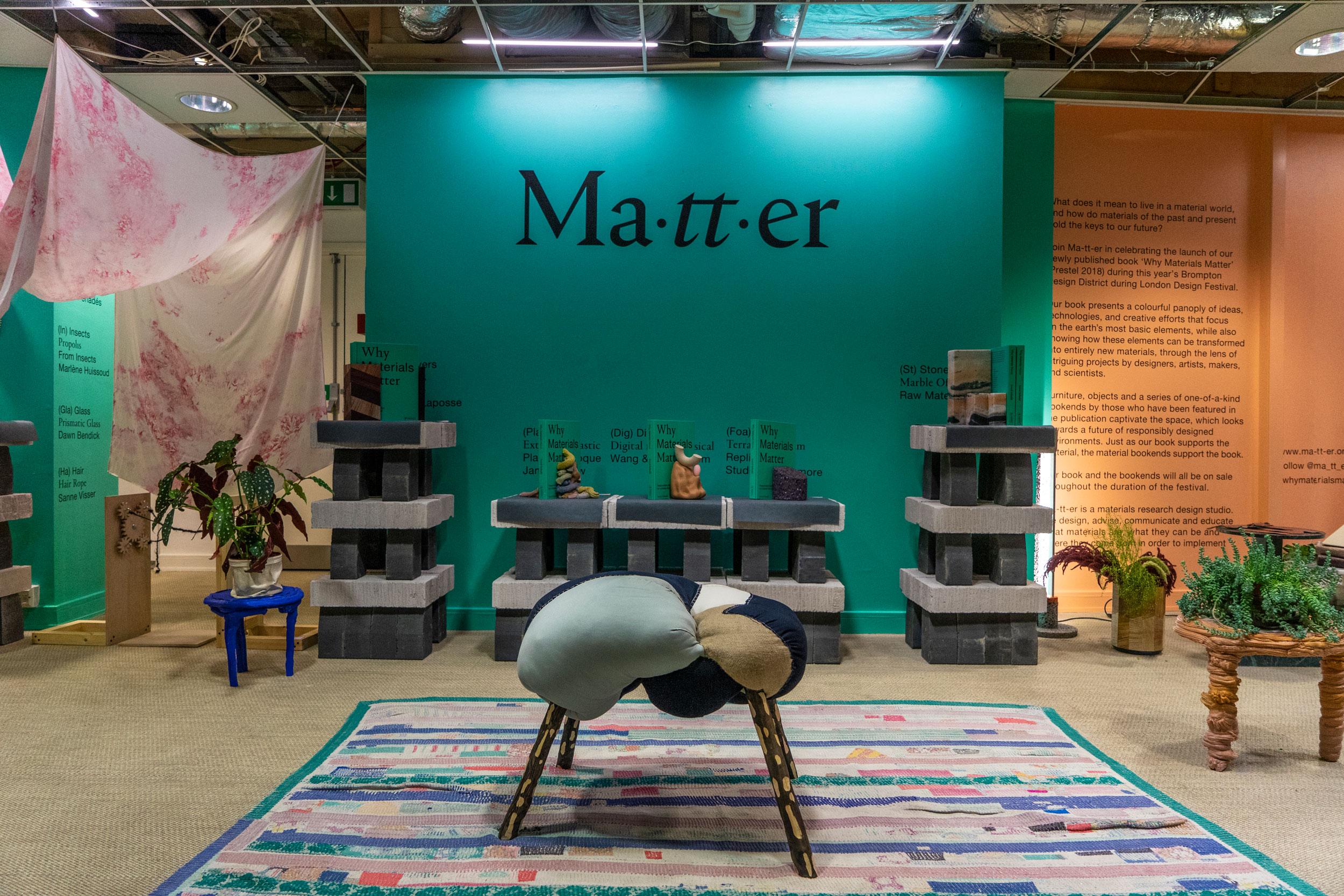Ma-tt-er - Why Materials Matter Book Launch + Exhibition